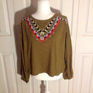 Free People Crop Top. NWT. Size L